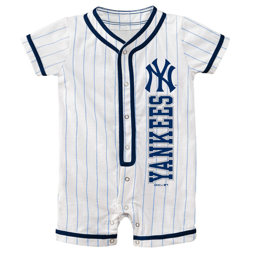 Yankees Infant Short Sleeve Coverall