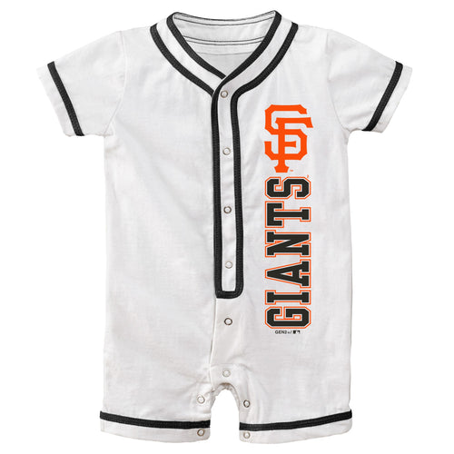 SF Giants Infant Short Sleeve Coverall