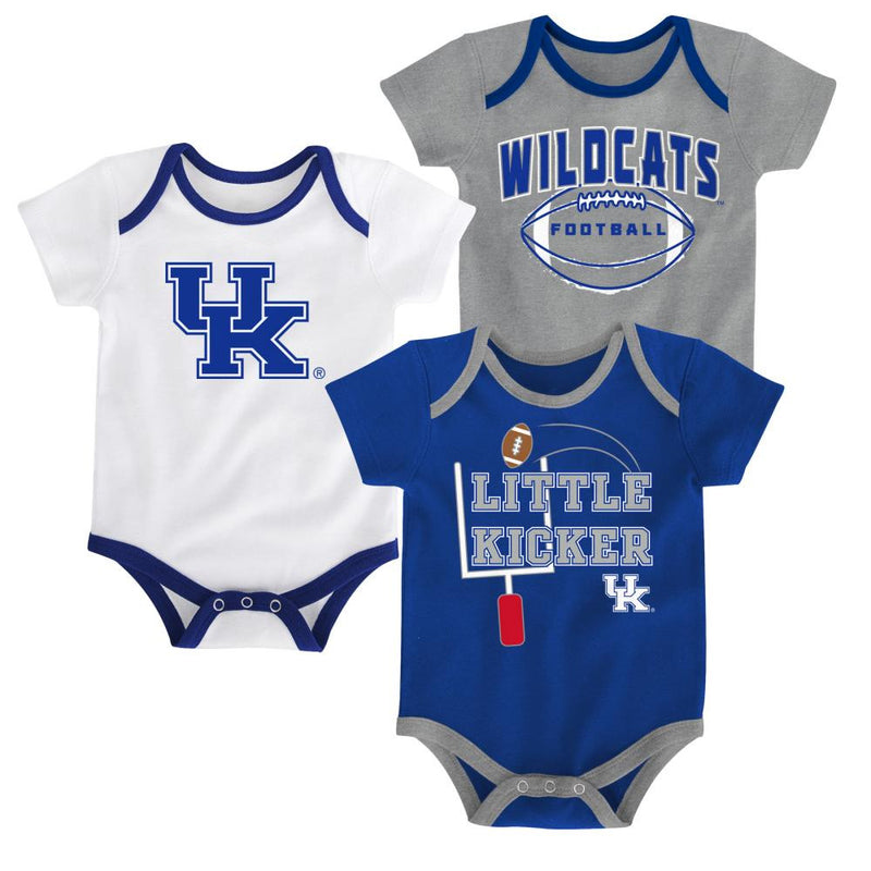 Kentucky Little Kicker Onesie 3-Pack