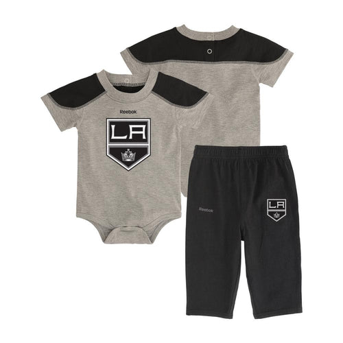 Kings Future Star Short Sleeve Onesie and Pant Set