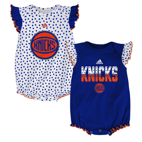 Knicks Baby Girl Dotty Duo