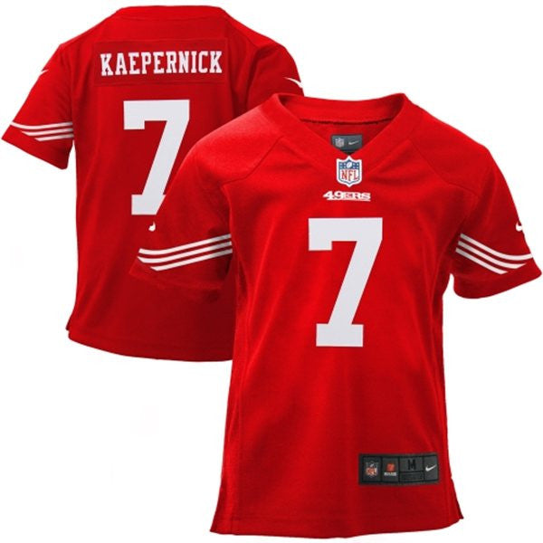 separation shoes f48d4 f66a5 Kaepernick 49ers Toddler Jersey (Size 2T-4T)