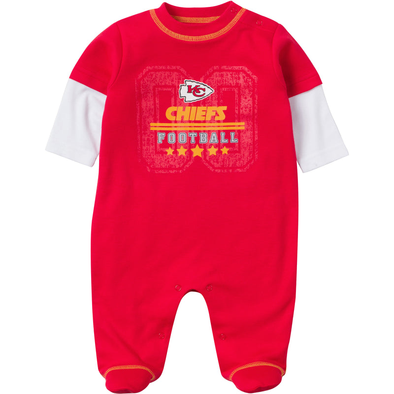 Baby Chiefs Fan Sleep & Play