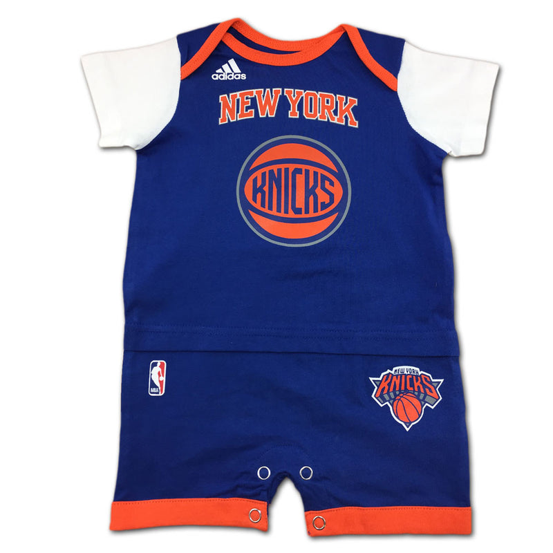 Knicks Basketball Newborn Jersey Romper