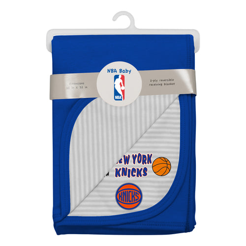 Knicks Newborn Baby Blanket