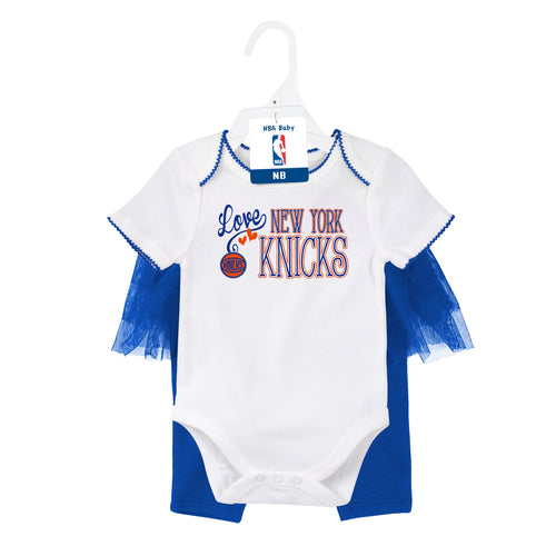 Knicks Baby Girl Creeper and Tutu Leggings