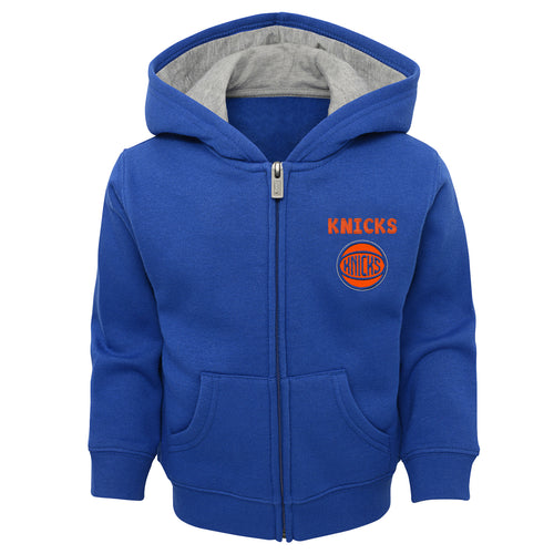 New York Knicks Zip Up Hooded Sweatshirt