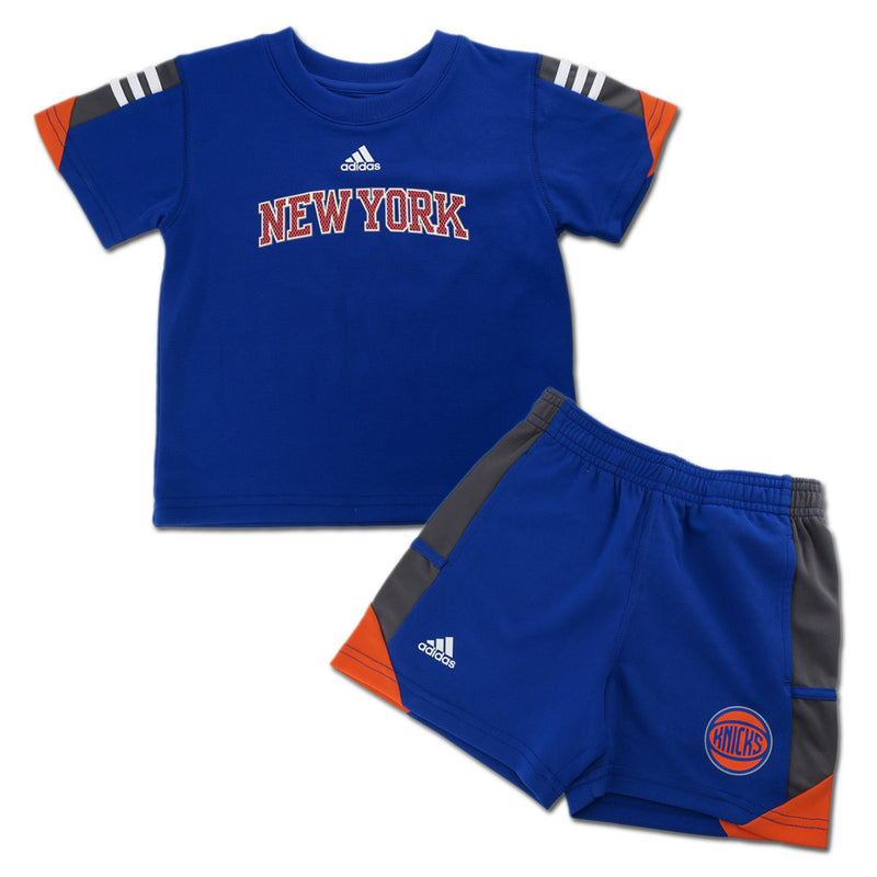 Knicks Classic Short Sleeve Shirt and Shorts Set