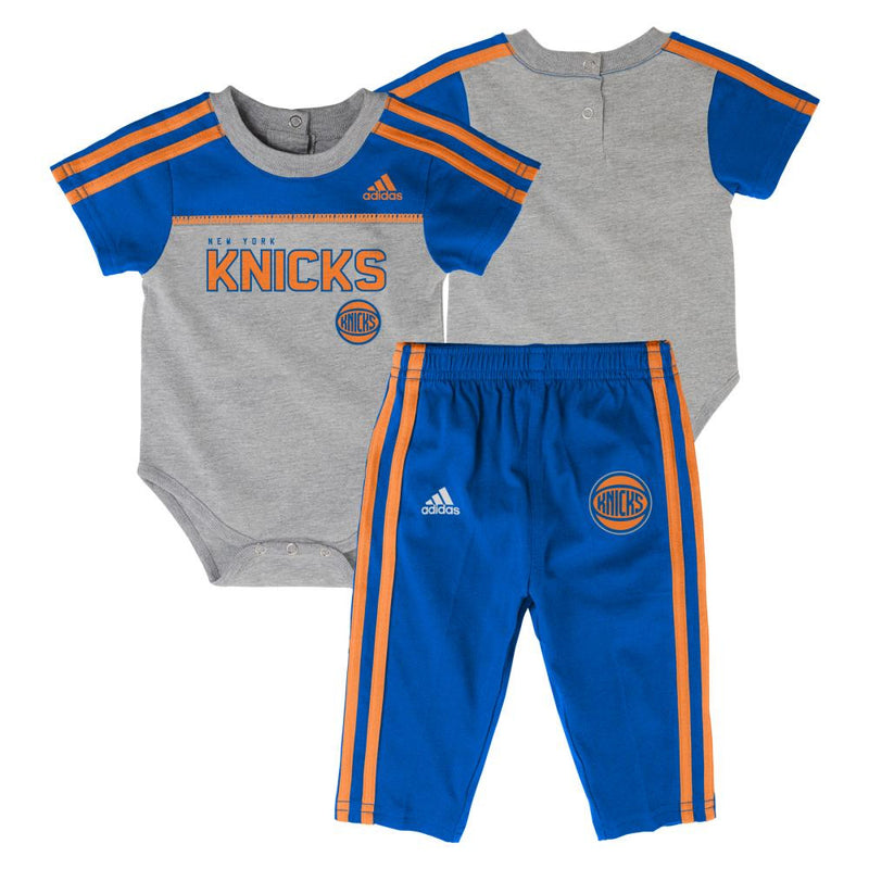 Knicks Basketball Onesie & Pants
