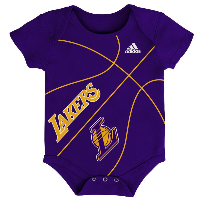 Baby Lakers Fan Basketball Onesie