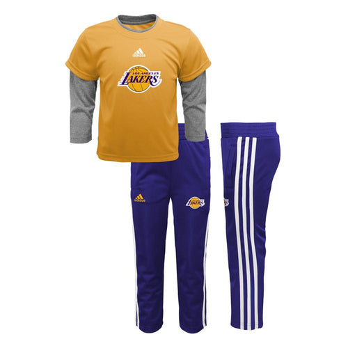 Lakers Jersey Style Pant Set