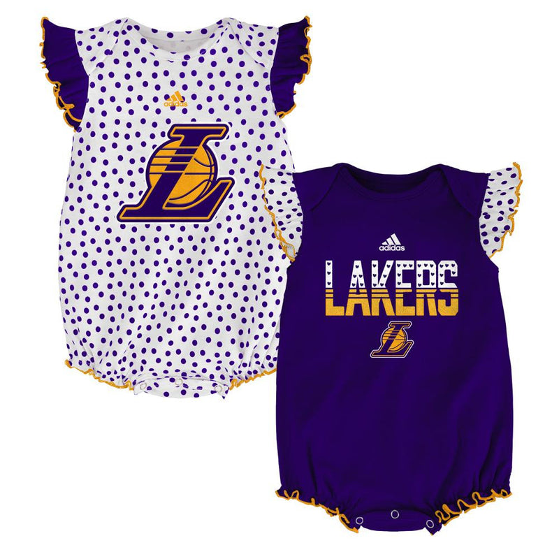 Lakers Baby Girl Dotty Duo