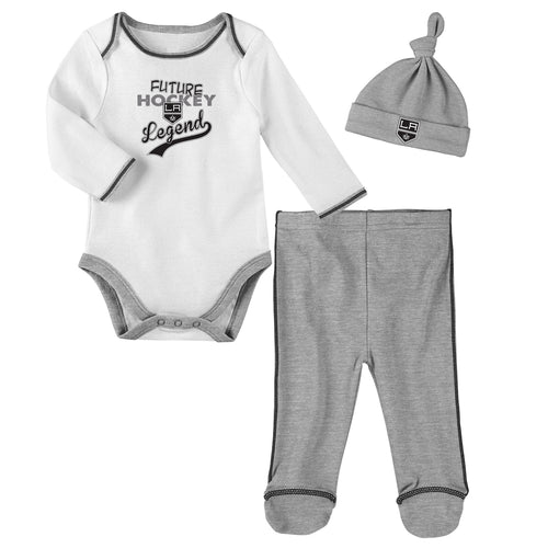 Los Angeles Kings Future Hockey Legend 3 Piece Outfit