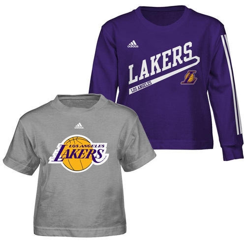 Lakers Fan Toddler T-Shirts Combo Pack