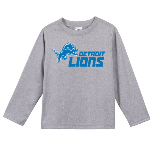 Detroit Lions Boys Long Sleeve Tee
