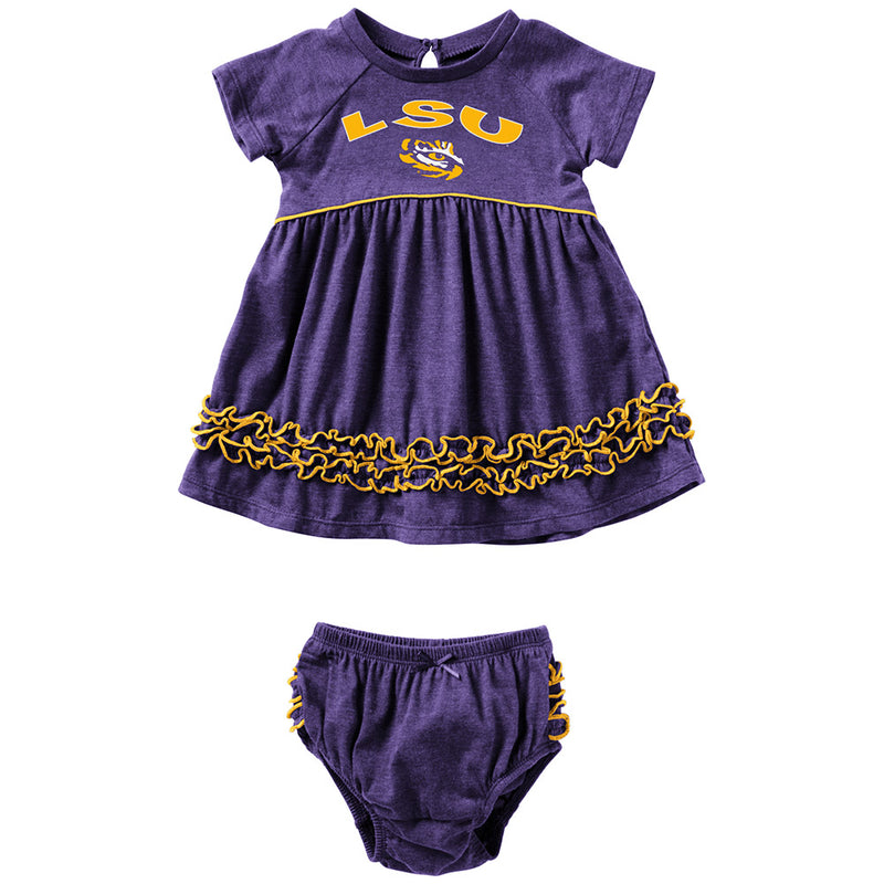 LSU Infant Girls Dress