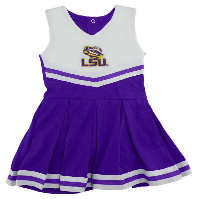 LSU Tigers Infant Cotton Cheerleader Dress