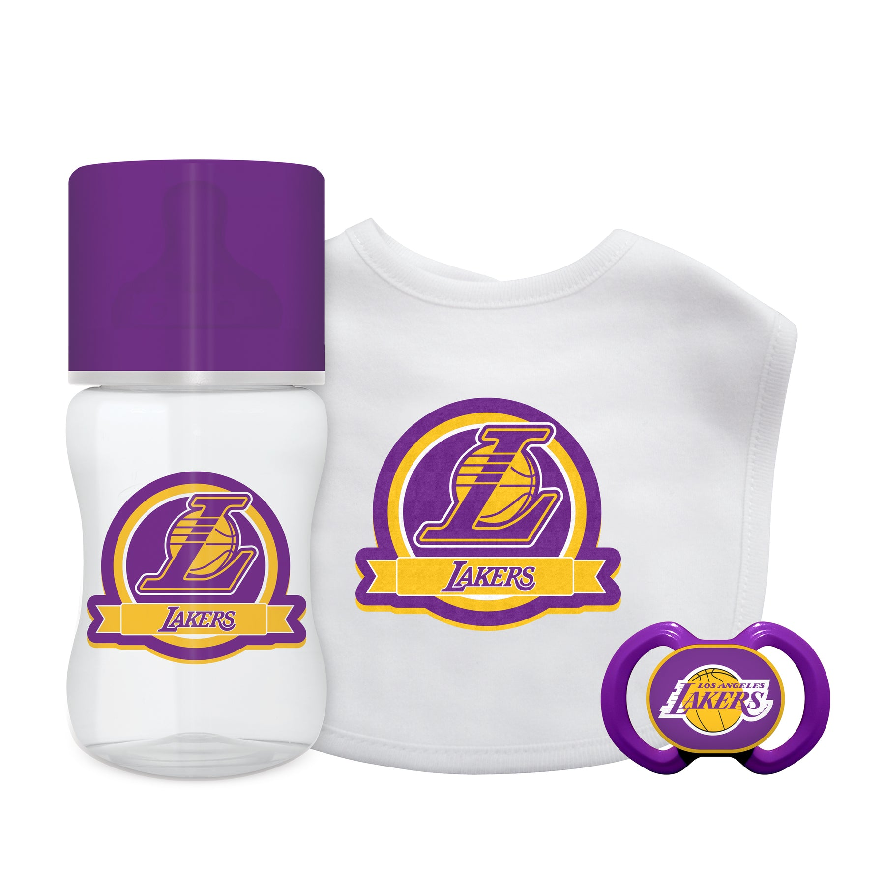 Lakers 3 Piece Infant Gift Set – babyfans 83b794eee