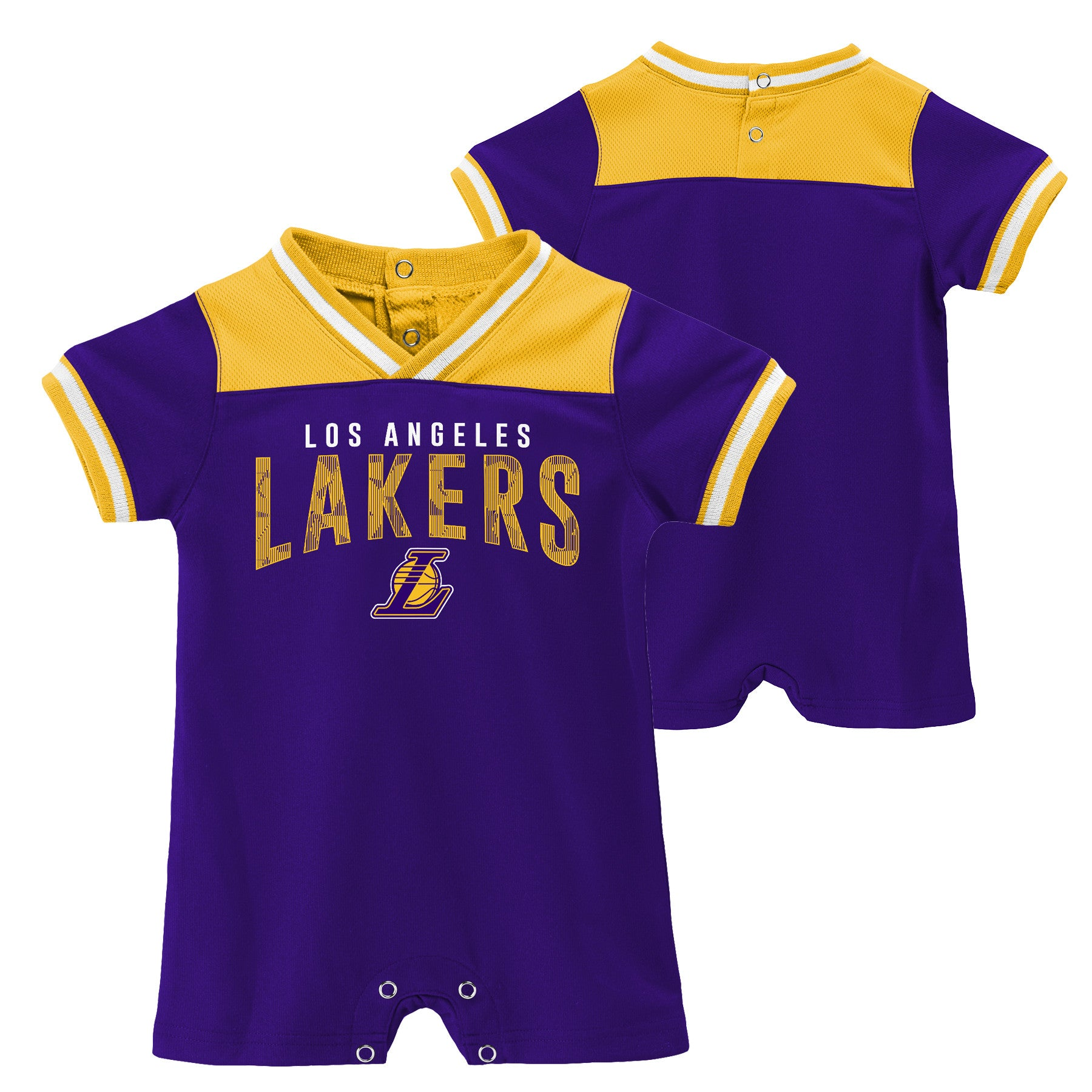 89c5fb4f14e Lakers Baby Ultimate Fan Romper – babyfans