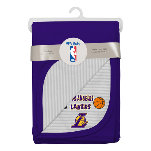 Lakers Newborn Baby Blanket