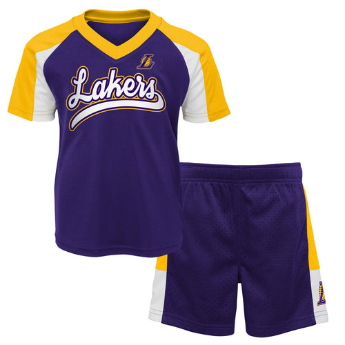 Lakers Basketball Shirt and Shorts Set