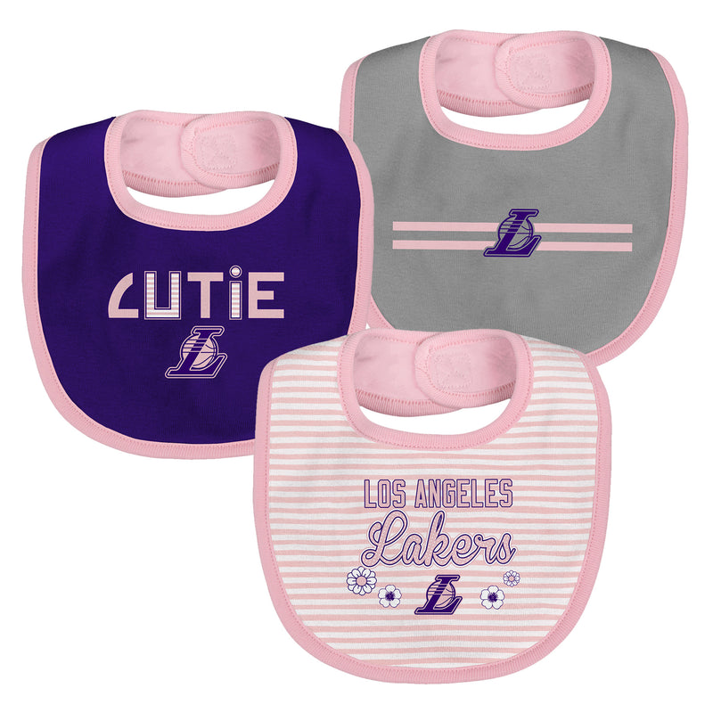 Pink Lakers Cutie Bib Pack