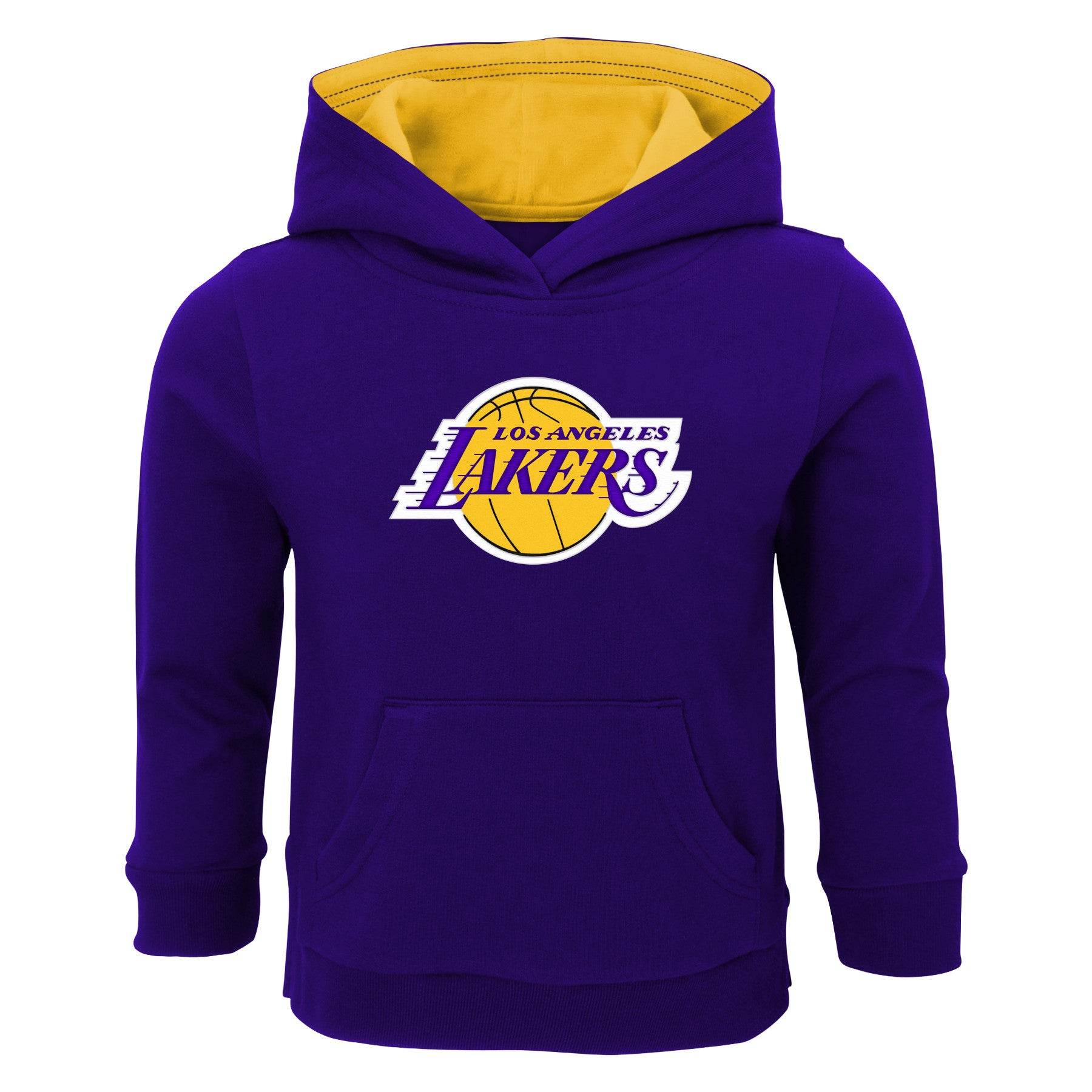 Lakers Pullover Sweatshirt with Hood – babyfans 32bdfcc20