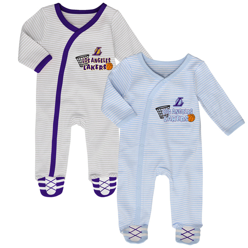 Lakers Classic Infant Gameday Coveralls