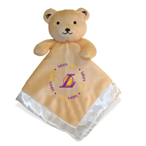 Embroidered Lakers Baby Security Blanket