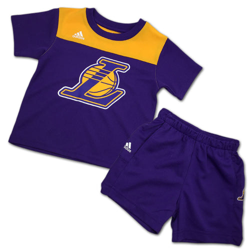 Lakers Toddler Ultimate Short Sleeve Tee and Shorts