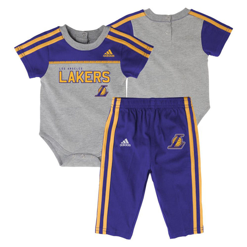 Lakers Basketball Onesie & Pants