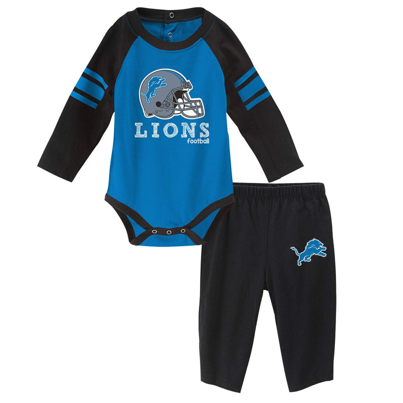 Lions Long Sleeve Bodysuit and Pants