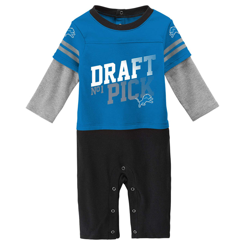 Lions Boy Long Sleeve Coverall