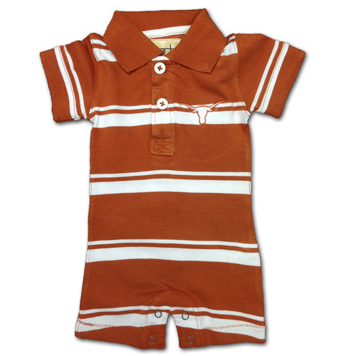 Texas Baby Striped Romper