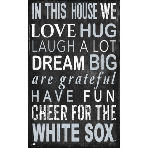 White Sox In This House Wall Décor.