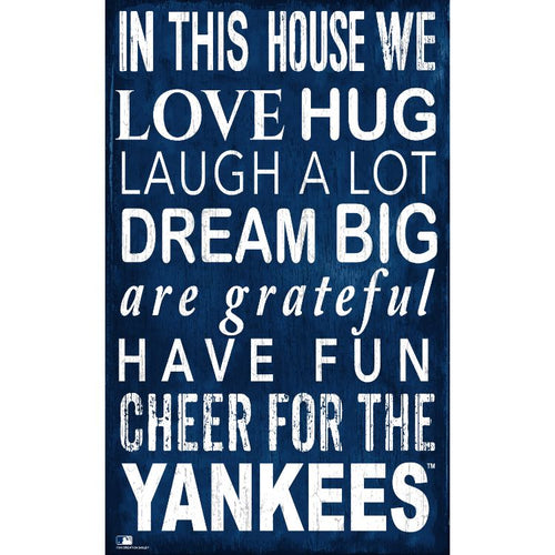 Yankees In This House Wall Décor.