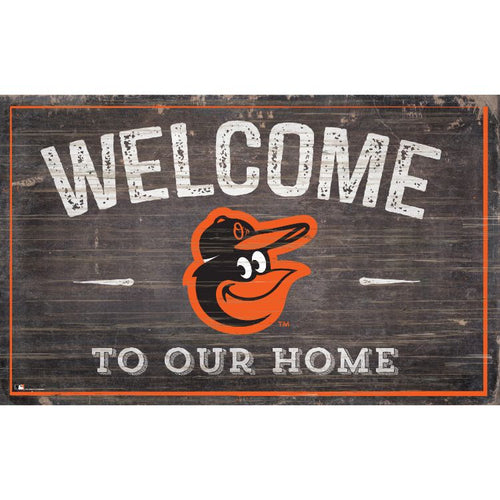 Orioles Welcome to Our Home Wall Décor.