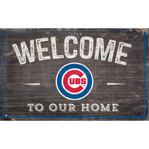 Cubs Welcome to Our Home Wall Décor.