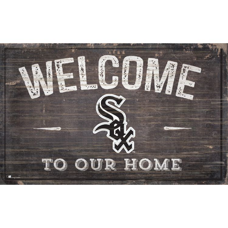 White Sox Welcome to Our Home Wall Décor.