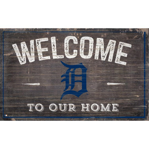 Detroit Tigers Welcome to Our Home Wall Décor.