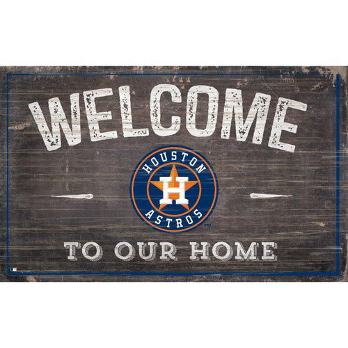 Astros Welcome to Our Home Wall Décor.