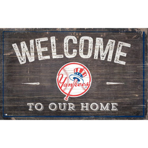 Yankees Welcome to Our Home Wall Décor.