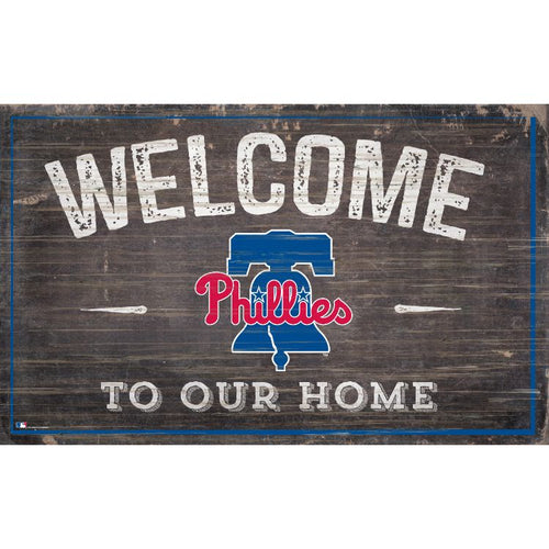 Phillies Welcome to Our Home Wall Décor.