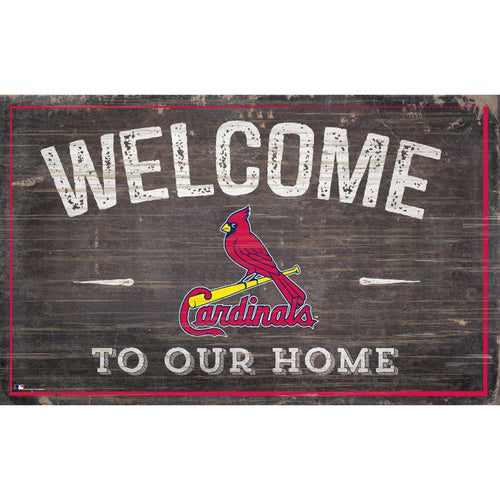 Cardinals Welcome to Our Home Wall Décor.