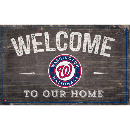 Nationals Welcome to Our Home Wall Décor.