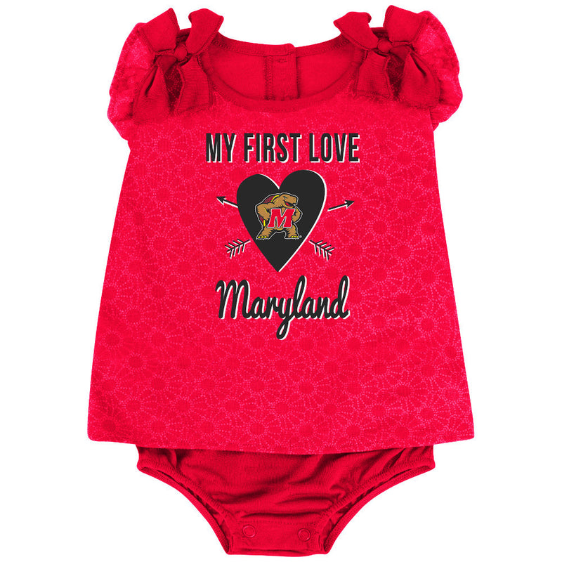 Terrapins Baby Girl My First Love Outfit