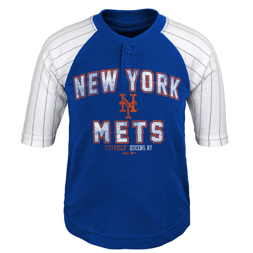 Mets Boy Team Baseball Shirt