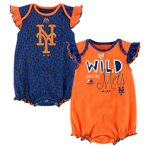 Wild About the Mets Onesie Duo
