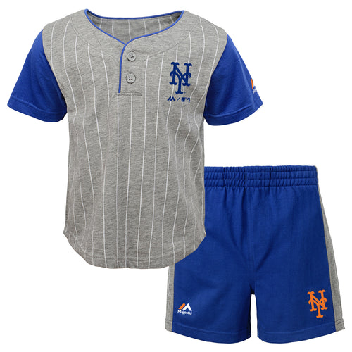 Mets Bat Boy Short Set