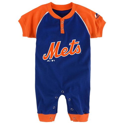 Mets Baby Uniform Coverall